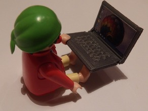 Notebook Playmobil compatible