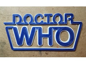 Doctor Who 1980's Logo