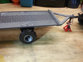 Micro RC Crawler Trailer 1:25/1:24