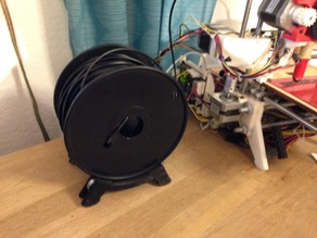Spool Holder for my Printrbot in Big Foot design, for different sizes