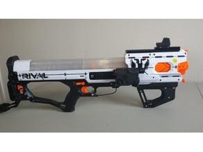 Nerf Rival Hades front  pump grip mk4.1