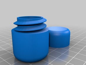 Small Pill Case capsule