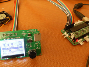 Graphic LCD controller with PWM fan pins  for Sanguinololu1.3 main board
