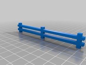 Wargaming split rail fence