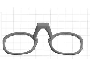 Remix Child Frames Nonny Mask 10mm narrower between lenses