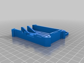 Raspberry Pi 3 case for Creality Printers with slot for picamera cable