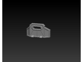 Space-lock 28mm scale Riot shield
