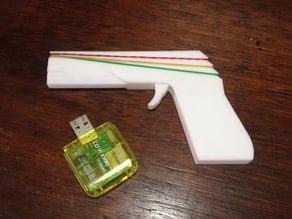 Mini Rubber Band Gun