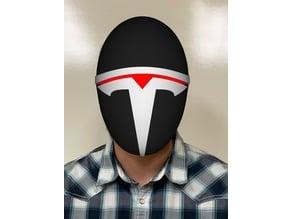 Teslas Killer Robot Mask
