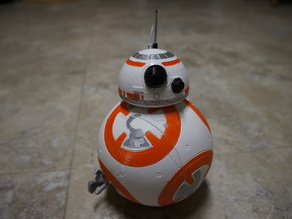 BB-8 remix with dummy internals