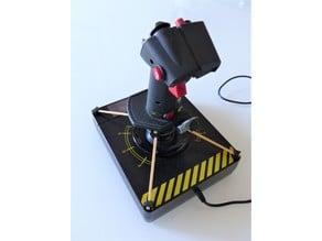 Saitek X55 / X56 stick enhancement (rubber bands version)