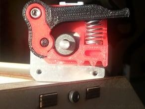 Replicator Mk8 spring loaded filament drive