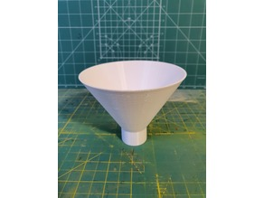 Funnel for scale modelers