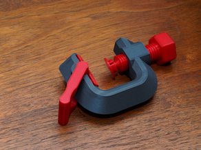 Quick Adjust G-Clamp With Universal Mount