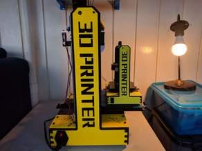3D Printed 3D Printer (Non-Functional)