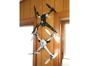 Parametric Drone/Quadcopter Hanger