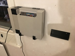 Simplest NES wall mount