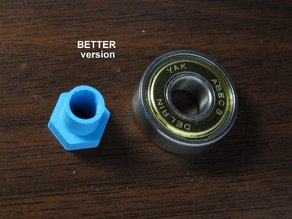 Shaft adapter 6mm to 8mm