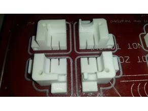 Silicone sock mold for Volcano hotend