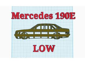 Mercedes Benz 190E Cookie Cutter LOW