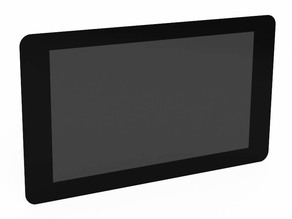 "Official Raspberry Pi 7"" Touch Screen Reference Model"