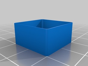 4mm Thin Wall Caibration Cube