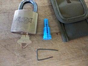 Almont Re-Key Padlock Driver Pin Tool
