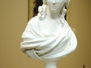 Bust of Anne-Marie-Louise Thomas de Domangeville de Sérilly, Comtesse de Pange