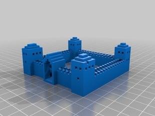 Mine Craft Castle