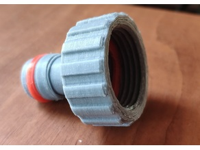 """Connector 3/4"""" GHT + gasket"""