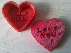 Message Heart Box