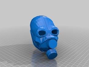 Half Life Metro Cop Mask print ready