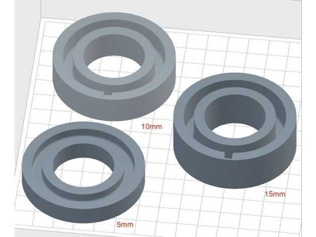 Silicon Cock Ring For Vacuum Pump