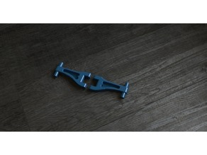 TT-02 Spec R Rear Upper Arms +3MM