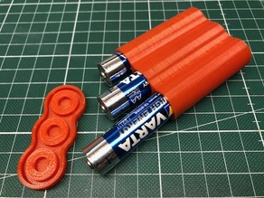 Spare AA Battery Case