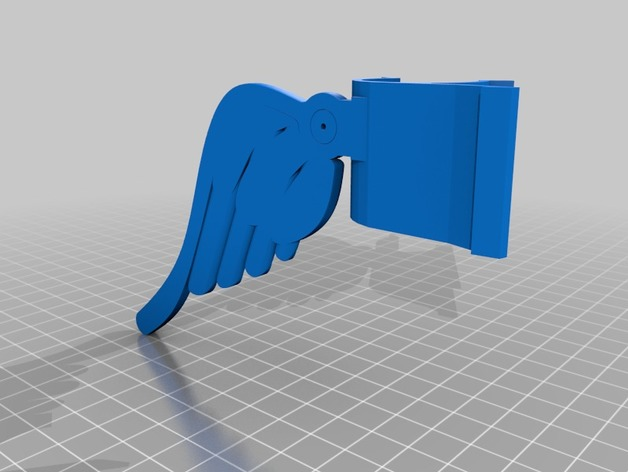 3f413893a3c Hard hat flashlight wings by tentoes09 - Thingiverse