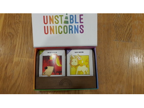 Unstable Unicorns Card Tray