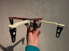 Leg extension for FlameWheel frame