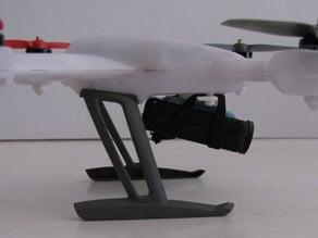 Blade 200 QX Mobius mount