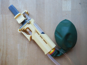 Balloon Remote for a Pneumatic Engine