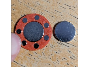 Attractive and Repulsive Magnet Ring