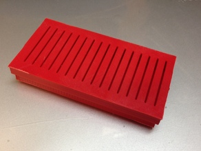 Desiccant Box with Slotted Snap-on Lid (Rust Prevention)