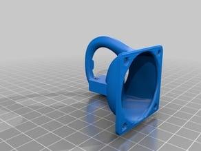 Adjusted Fan duct for FL Sun Kossel mini delta printer