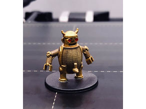 Keg Robot - D&D Miniature
