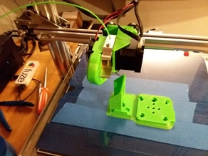 DY-H9 2020 X Gantry and Direct Extruder Mount