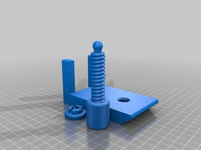 Center clamp for the Logitech G27 Gear Stick