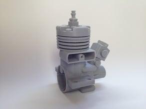 RC model engine