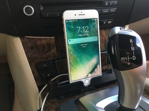 Apple iPhone 6 or 7 Plus Dock Horizontal and Vertical for BMW vehicles