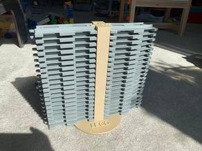 Lego Duplo Train Tracks Organizer