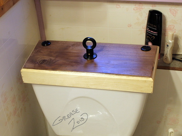 Toilet Flush Cover : Toilet tank flush handle replacement by greasetattoo